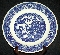 Royal China Company Willow Blue Chop Plate Platter