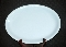 Homer Laughlin Skytone Blue Oval Serving Platter