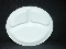 Corelle Livingware Winter Frost White Divided Dinner Plate
