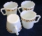 Corning Corelle Butterfly Gold D Handle Mugs