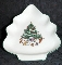 Salem China Whimsical Christmas Tree Dish New In Box