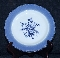 Wood & Sons Enoch Blue Colonial Rose Dinner Plates