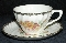 Royal China Co. 1940's California Morn Cup & Saucer Sets