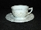 Indiana Glass Custard White Cup & Saucer Sets