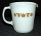 Pyrex Corning Butterfly Gold Large Creamer