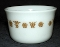 Pyrex Corning Butterfly Gold Open Sugar Bowl