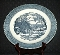 Royal China Currier & Ives Round Platter Chop Plate