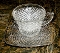 Westmoreland English Hobnail Cup & Saucer Sets