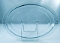 Pyrex Blue Flameware Oval Platters