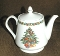 Corning Corelle Christmas Joy Fine Porcelain Tea Pot