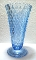 Indiana Glass Ice Blue Diamond Point Vase