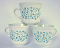 Corning Corelle Blue Heather Tea Cups