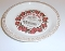 Royal China Deep Dish Cherry Pie Recipe Plate