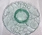 Indiana Glass Green Madeira Chip & Dip Tray