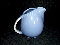 Hall China Cadet Blue Sani-Grid Milk Pitcher