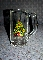 Vintage Christmas Tree Glass Tankards