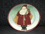 Block-Spal Father Christmas Salad Plate