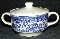 Royal China Company Willow Blue Sugar Bowl