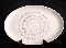 Stetson Pottery Star Flower Oval Serving Platter