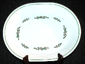 Corning Corelle Winter Holly Oval Platter
