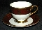 Hankook Oriental Garden Bone China Cup & Saucer Sets