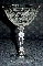 Fostoria Chintz Champagne Glasses Stem 6026