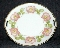 RS Germany Wild Rose Gilded Pierced Cake Plate