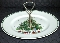 Salem China Porcelain Christmas Eve Single Tier Server