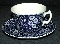 Burleigh Blue Calico Cup & Saucer Sets
