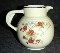 Hall China Floral Lattice Banded Syrup Jug