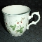 Mikasa Antique Green Strawberry Fair Tea Cups