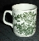 Royal Crownford Charlotte Green Transferware Mug