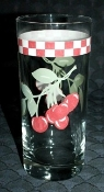 Mainstays Cherry Blossom 12 Ounce Glassware Tumbler