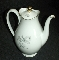 Seltmann Eberthal Bavarian Porcelain Midnight Rose Coffee Pot
