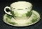 Franciscan Ivy Gladding McBean Cup & Saucer Sets