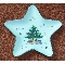 Nikko Christmastime Star Shaped Candy Dish
