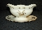 Lenox Harvest Gravy Boat Attached Underplate Pattern R441