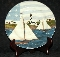 Kimble Sakura America The Beautiful Sail Boat Salad Plates