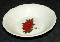 Canonsburg Pottery Adam Antique Poinsettia Candle Fruit Bowls