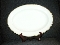 WH Grindley Black & Gold Large Oval Serving Platter