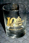 Ford Motor Rawsonville Tenth Anniversary DOF Glasses