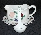 Princess House Orchard Medley Gravy Boat Underplate and Ladle