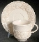 Metlox Poppytrails Sculptured Antiqua Cup & Saucer Sets