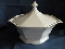 Independence Ironstone Independence White Covered Casserole