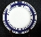 Ralph Lauren Farmstead Ticking-Blue Bread & Butter Plates