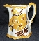 Cash Family Hand Painted Daisies Renfro Valley Pitcher