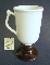 Hall China Irish Coffee Mugs Brown Foot Number 1273
