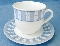 Martha Stewart Everyday Garden Trellis Cup & Saucer Sets