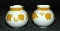 Block Vista Alegre Ginger Salt & Pepper Shaker Sets