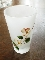 Libbey Hand Painted Gay Fad Apple Blossom Satin Tumblers